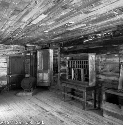 Garnet ghost town postoffice